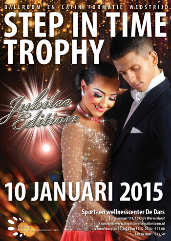 Poster Step in Time Trophy 2015
