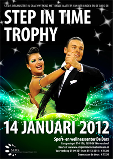 Poster Step in Time Trophy 2012